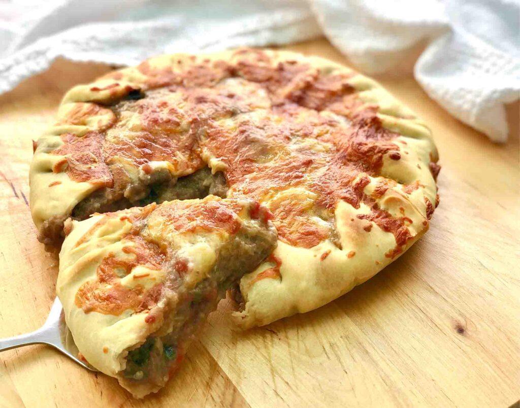receta canaria pastel de berenjena a la parmesana